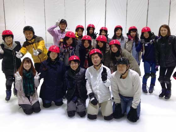 学生イベント・スケート