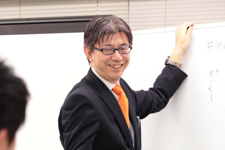 情報システムコース 松永 隆男先生