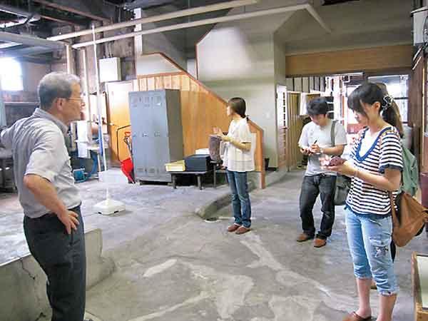 にいがた元気プロジェクト老舗の酒造見学1